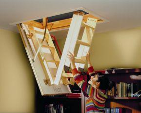 Escalera abatible lwk komfort las am ricas - Escalera de techo ...