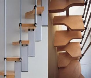 Escalera para espacios reducidos mini las am ricas Disenos de escaleras en espacios reducidos