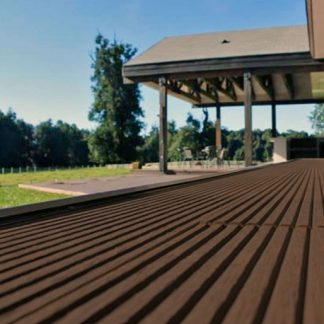 deck wpc color chocolate las americas