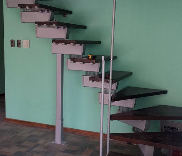 Proceso de instalación Escalera modular Rintal Modelo Tech