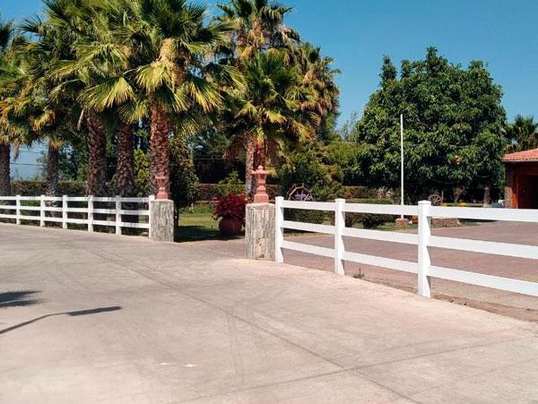 Cerco de PVC Rancho